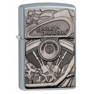 29266 Zippo Öngyújtó, Harley-Davidson motor emblémával