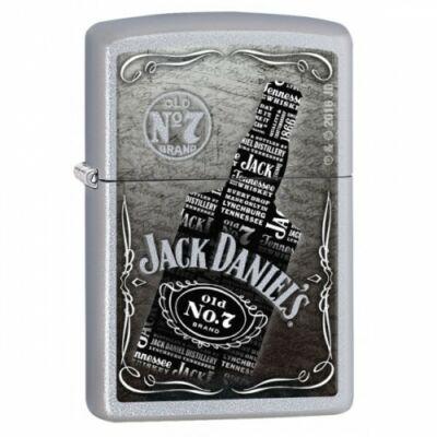 29285 Zippo öngyújtó Selyemfényű króm - Jack Daniels
