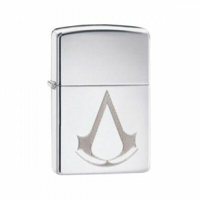 29486 Zippo öngyújtó, polírozott króm színben - Assassin's Creed