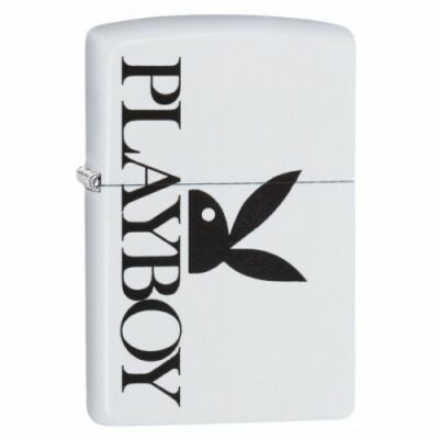 29579 Zippo öngyújtó, matt fehér színben - Playboy