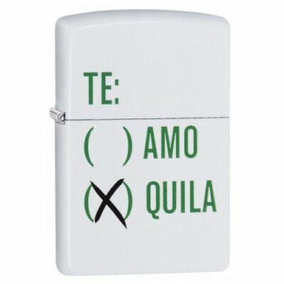 29617 Zippo öngyújtóFehér matt - Te: Quila