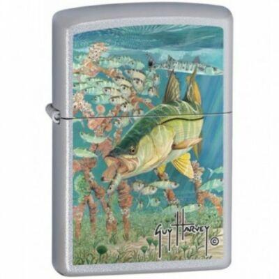 20624 Zippo öngyújtó, csiszolt ezüst színben - Nagy hal