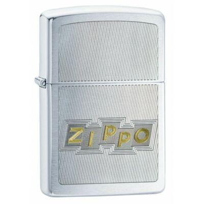49204 Zippo öngyújtó ezüst színben Zippo lézergravírral