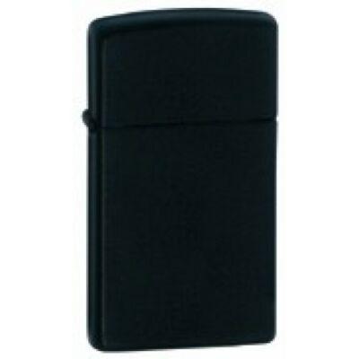 1618 Zippo Slim-vékony benzines öngyújtó, matt fekete