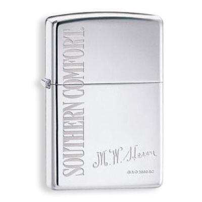 24083 Zippo öngyújtó fényes ezüst színben - Southern Comfort felirattal