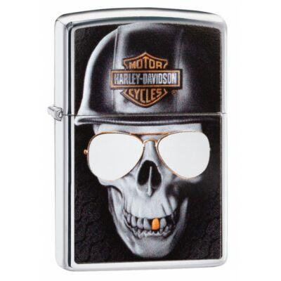 29739 Zippo Polírozott Króm öngyújtó, Harley Davidson®