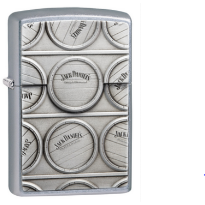 29817 Zippo öngyújtó utcai csiszolt, Jack Daniel's®
