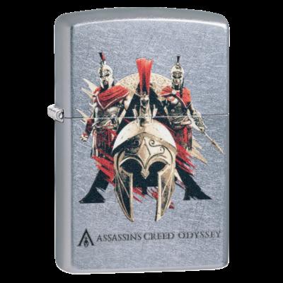 49084 Zippo öngyújtó Utcai csiszolt kivitelben -Assassin's Creed®