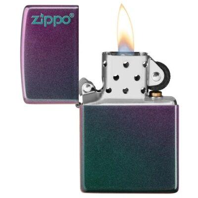 49146ZL Zippo öngyújtó Iridescent Zippo logóval
