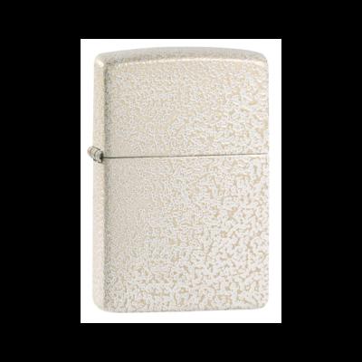 49181 Zippo öngyújtó matt fehérszínben -Üveg minta