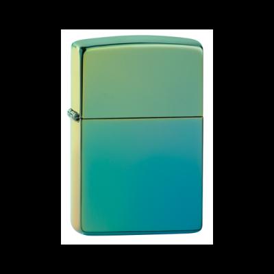 49191 Zippo öngyújtó zöldeskék színben