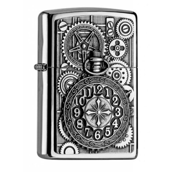 2.004.742 Zippo Pocket Watch-  Dombornyomott Zsebóra