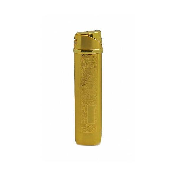 D5654-49 Dinky Mintás Arany színű öngyújtó, Utolsó darab