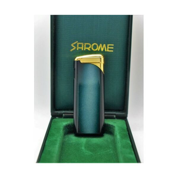 SA2635 Sarome öngyújtó, zöld színátmentes, Utolsó darab