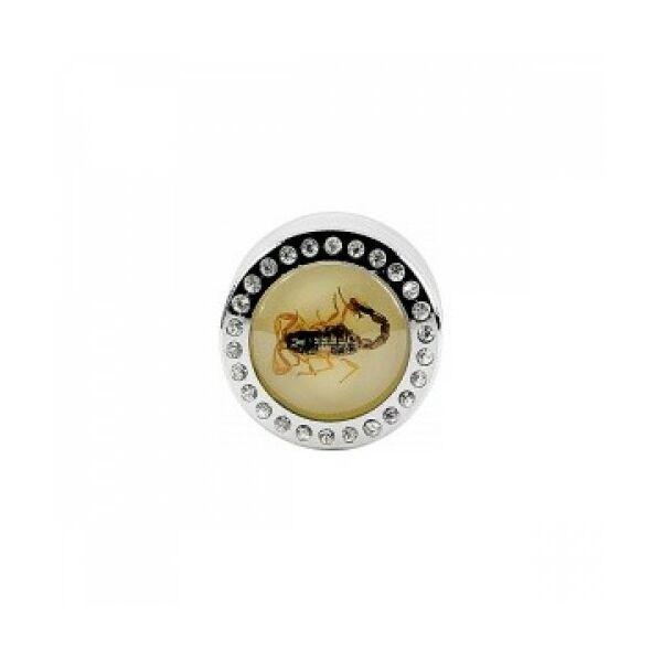 11165 Dohányörlő - Skorpió műgyantában