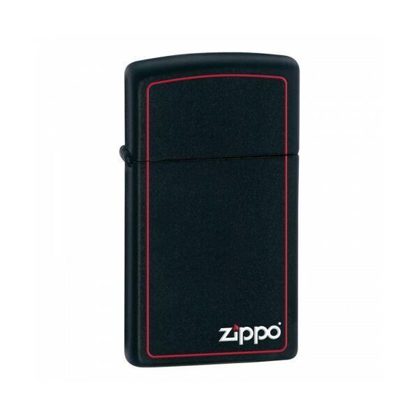 1618ZB Zippo benzines öngyújtó, vékony kivitel, matt fekete