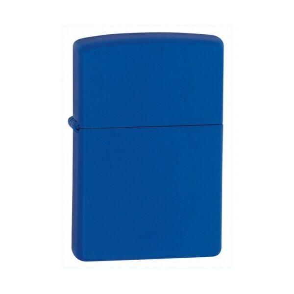 229 Zippo öngyújtó, matt kék színben