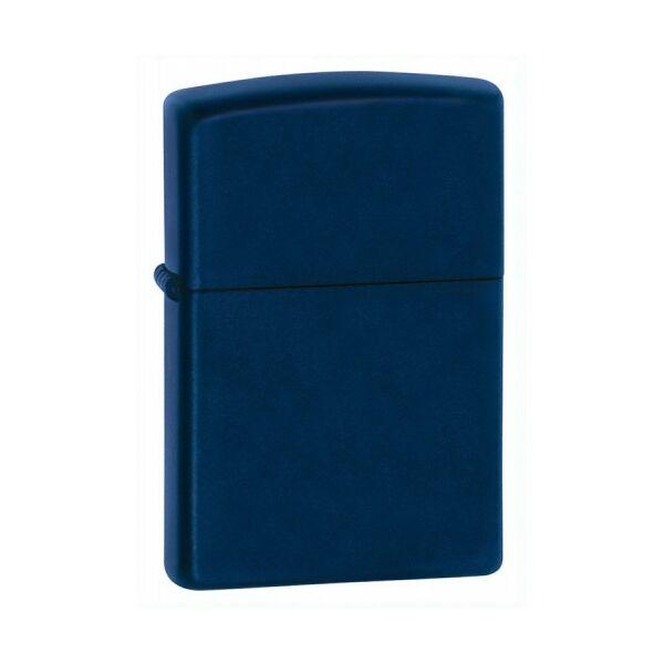 239 Zippo öngyújtó, matt kék színben, gravírozható