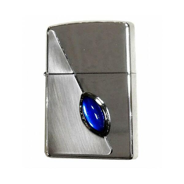 250 Zippo öngyújtó, fényes ezüst színben - Blue alien eye