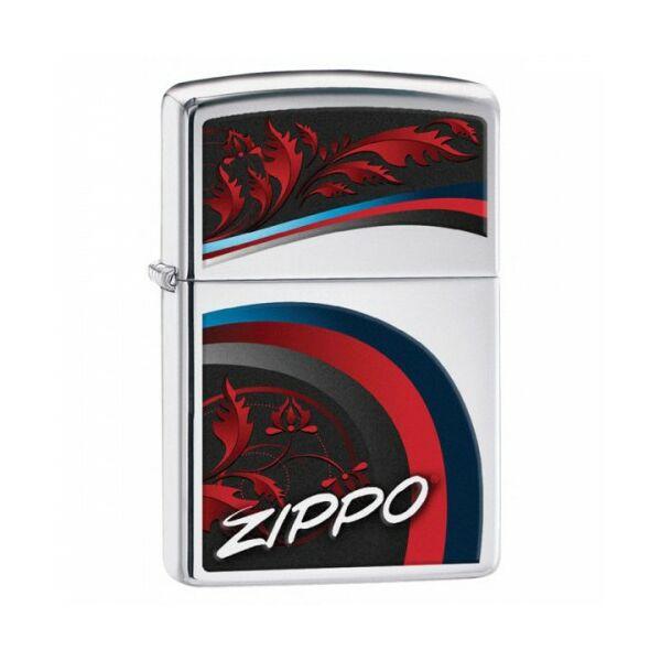 29415 Zippo öngyújtó, Fényes ezüst színben - Zippo felirat