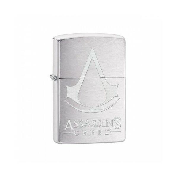 29494 Zippo öngyújtó, csiszolt króm színbe - Assassin's Creed
